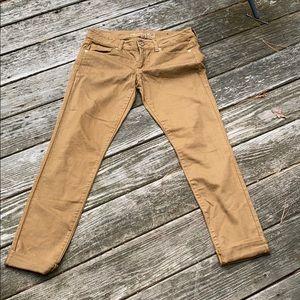 American Eagle Brown Stretch Skinny 10 Pants NWOT